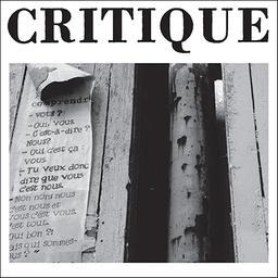 Critique : revue générale des publications françaises et étrangères / directeur Georges Bataille |