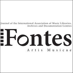 Fontes artis musicae / Association internationale des bibliothèques, archives et centres de documentation musicaux |